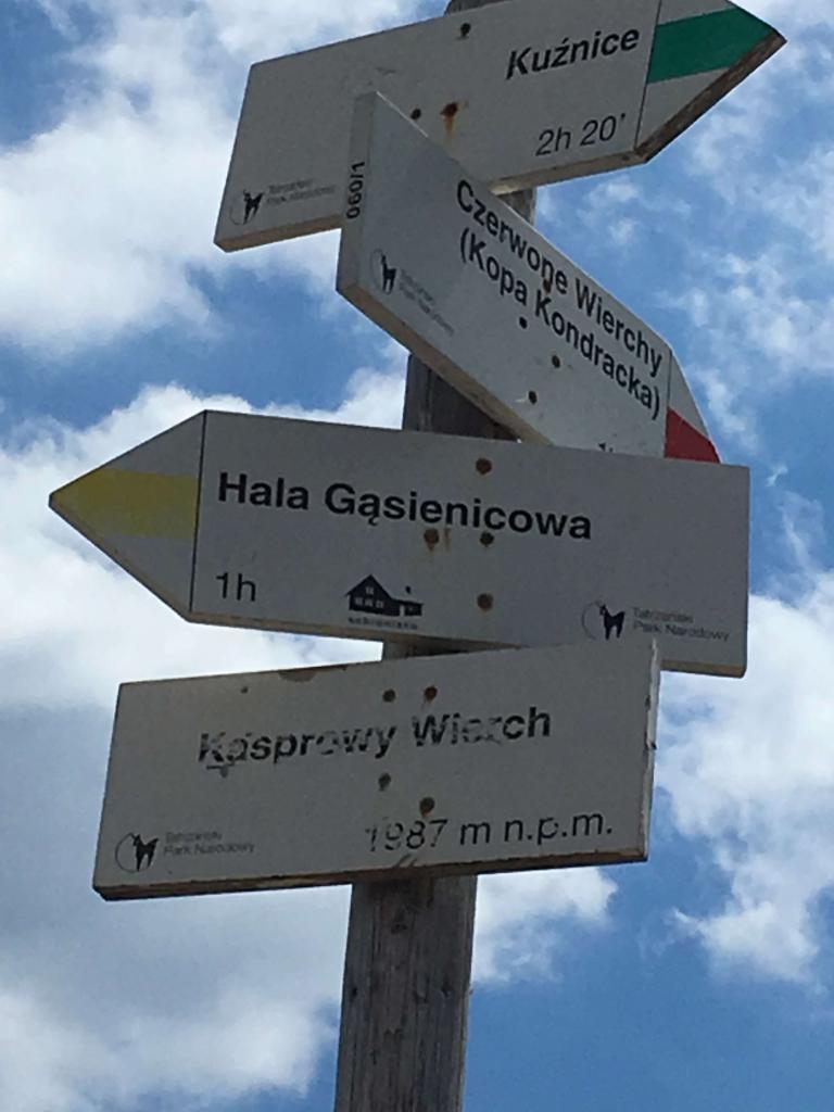 Kasprowy wierch - pěší trasy a lanovka