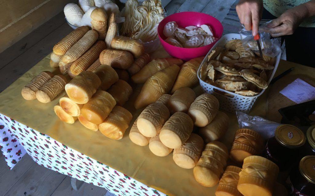 Oštěpek a další tradiční sýry z regionu Podhale