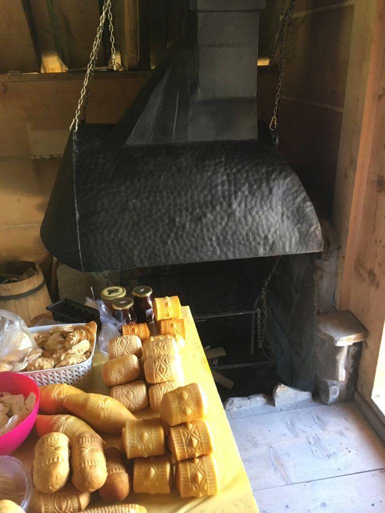 Salaš - mini továrna na domácí sýr Oszczypek