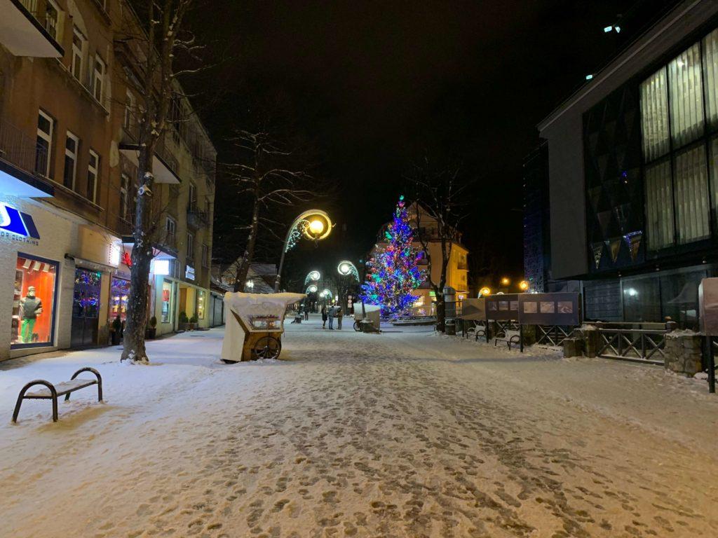 Krupowki - nákupy, restaurace a kavárny