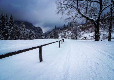 Zima v Dolina Kościeliska