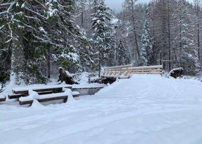 Sněhová nadílka v Dolina Kościeliska