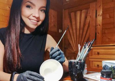 Ručně malovaná keramika – Agu.Ka_art