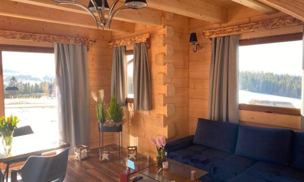 Little House Ząb – domek v oblacích