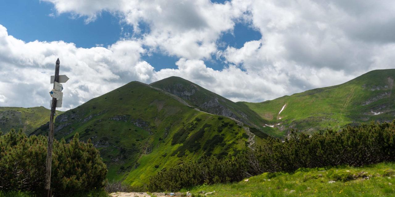 Kondratova Kopa – vrchol ve stínu Giewontu